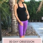 woman doing 21 day fix