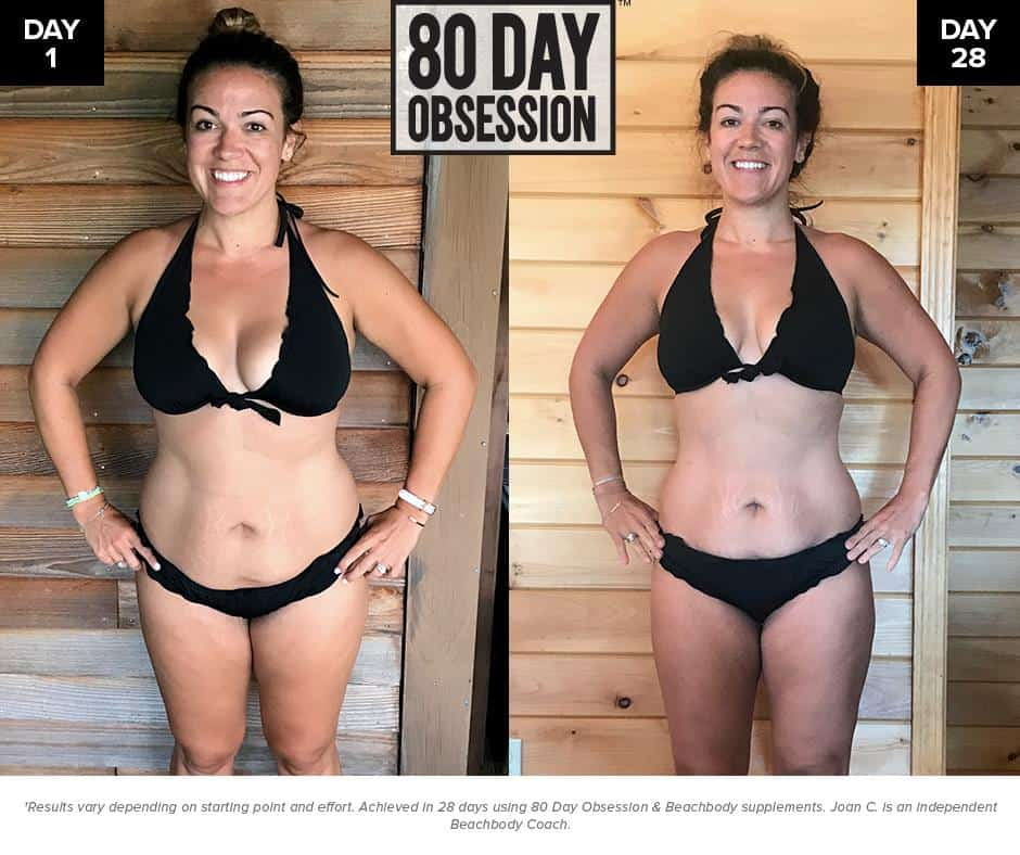 80 day obsession before and after shot