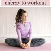woman not wanting to workout