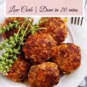 Thai Turkey Meatballs Air fryer