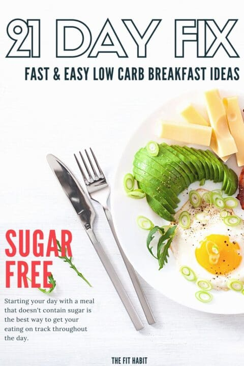 21 Day Fix low carb breakfast