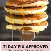 21 Day Fix Protein Pancakes