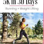 Idalis Velazquez 30 day breakaway runner