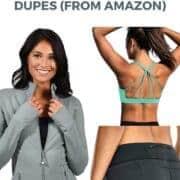 lululemon dupes from amazon