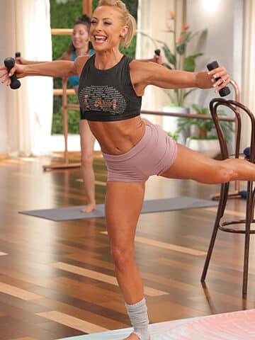 barre blend hybrid workout