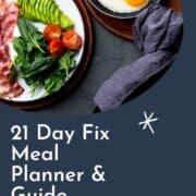 21 Day Fix Mea Plan