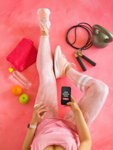 women with wellness app