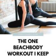 beachbody workout barre blend