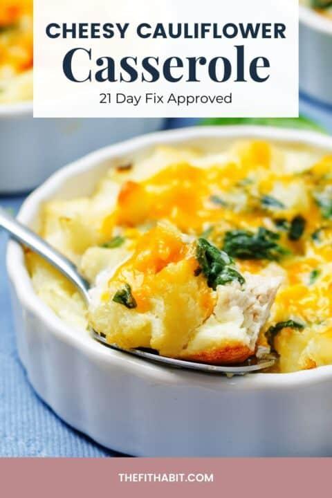 cauliflower casserole dish