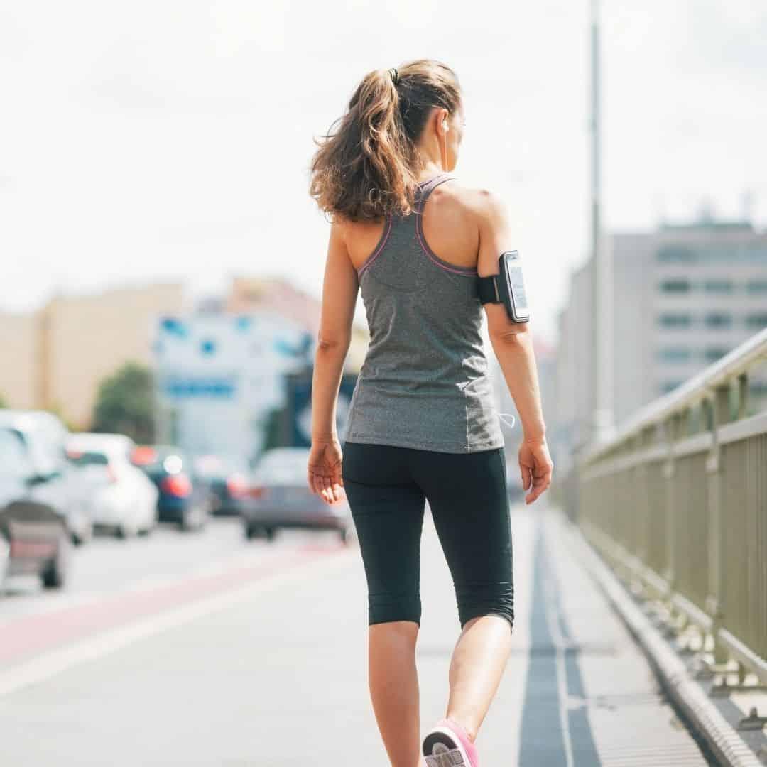 woman at 10K steps