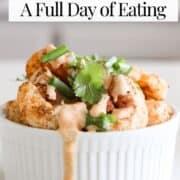 2B Mindset Dinner Recipe - Bang Bang Shrimp