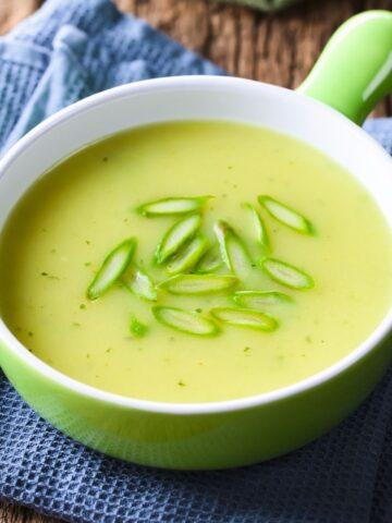 cream of asparagus soup 2B mindset