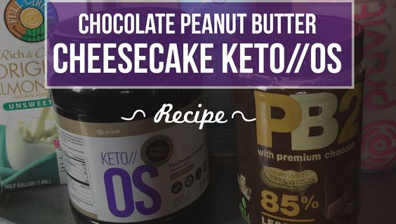chocolate peanut butter keto os
