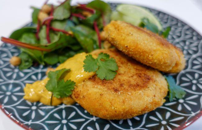 Masala Spiced Sweet Potato Fishcakes The Fitness Maverick