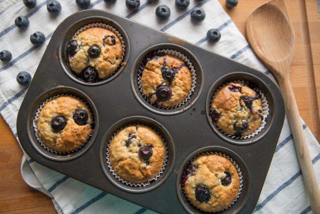 Banana Blueberry Brekkie Muffins The Fitness Maverick