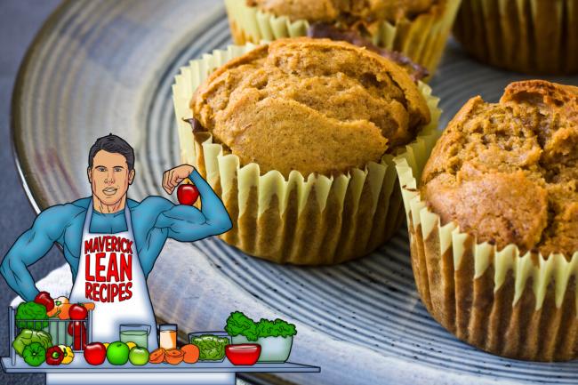 Mavericks Pumpkin Spice and Pecan Muffins The Fitness Maverick