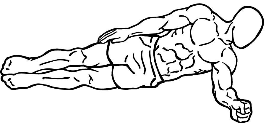 Side Plank Abs exercise