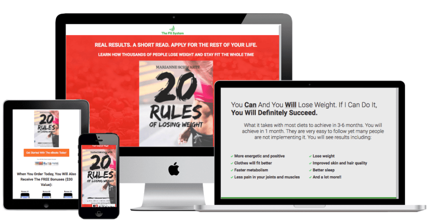 thefitsystem 20 rules of losing weight