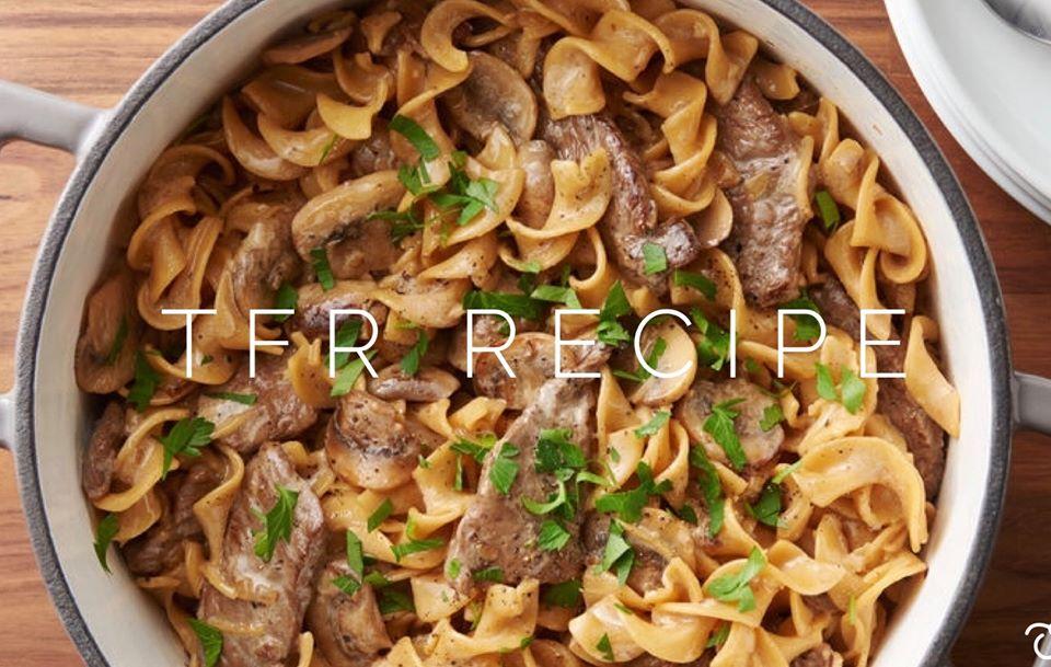 Healthy beef stroganoff recipe • Personal Trainer London ...