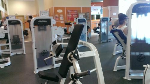 The goodlife gym near our school.
