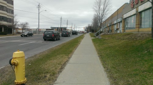 Sometimes I get off the bus a stop before just to walk an extra minute or two to enjoy the wind and nature.