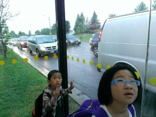 siblings raining