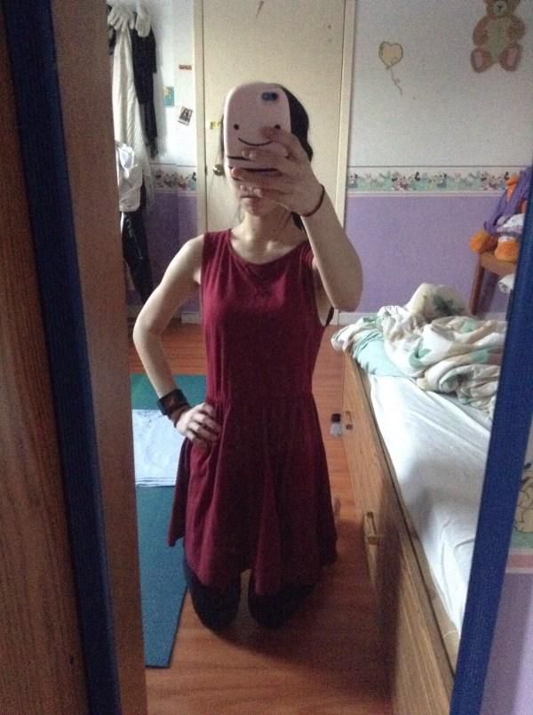 red dress marieke