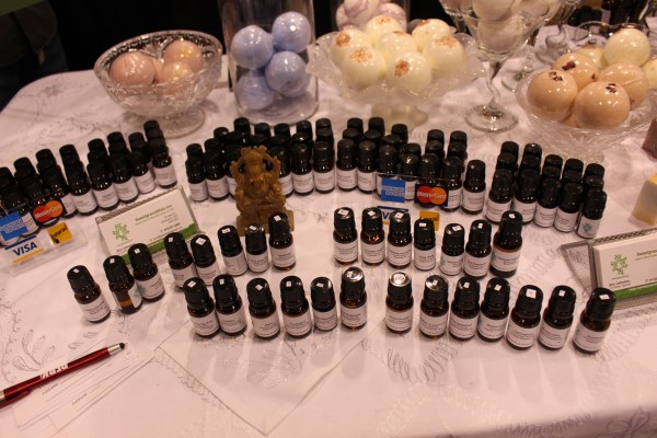 toronto green living show 2017 essential oils