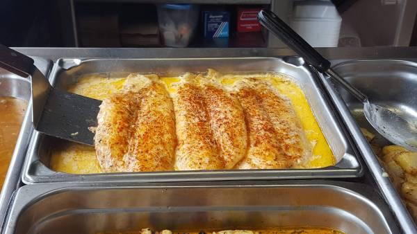 ali baba's  middle eastern cuisine tilapia fish
