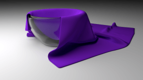 3D Rendered Cup