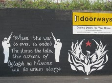 Belfast - Tales of IRA actions