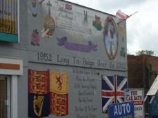 Belfast - 50° anniversario regno Elizabetta II