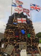 15th August Bogside Bonfires