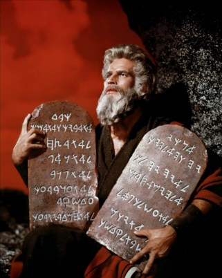 The Commandments summed up by the Commandment