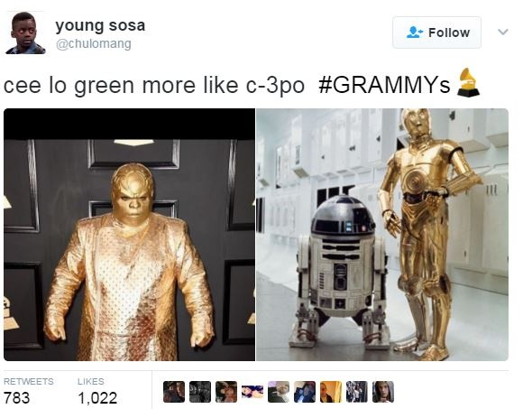Cee Lo Green Wore This And The Internet Can't Deal