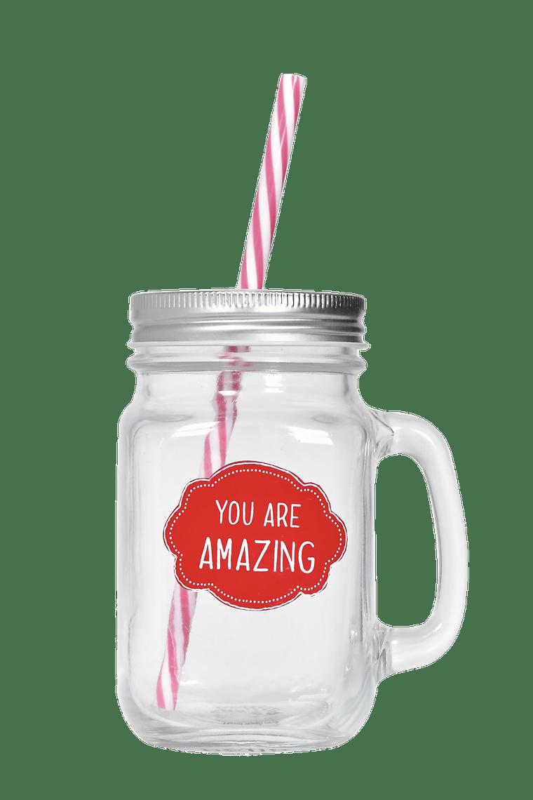 You Are Amazing Mason Jar