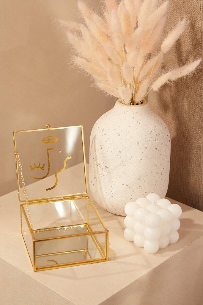 Ceramic White Vase