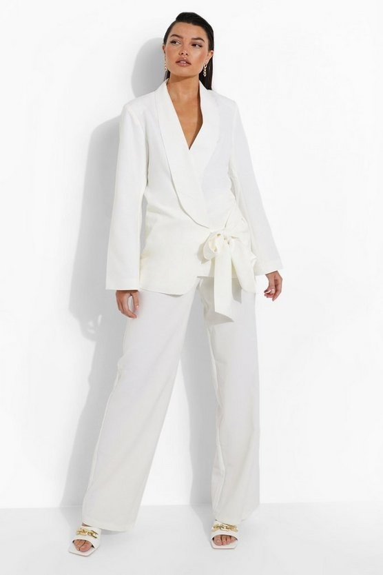 White suit for bottomless brunch.