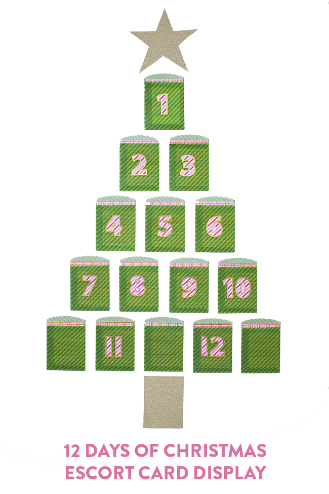 Twelve Days Of Christmas Advent Calendar Handmade