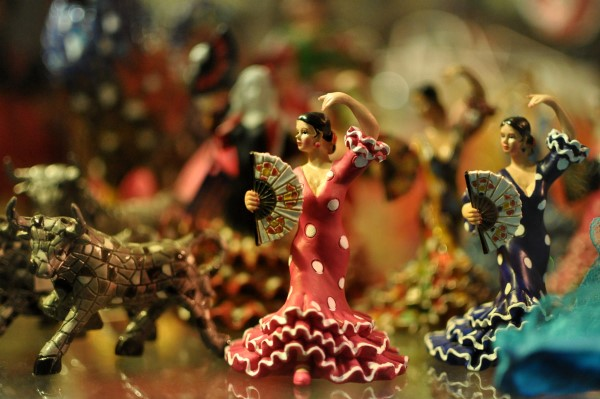 Flamenco souvenir - are flamenco shows just for tourists