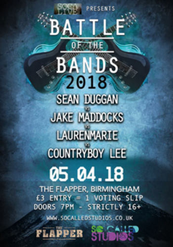 Battle of the Bands: Sean Duggan + Jake Maddocks + Laurenmarie + Countryboy Lee