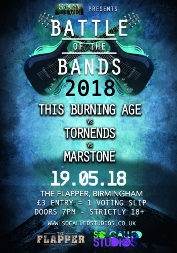 The Burning Age + Tornends + Marstone