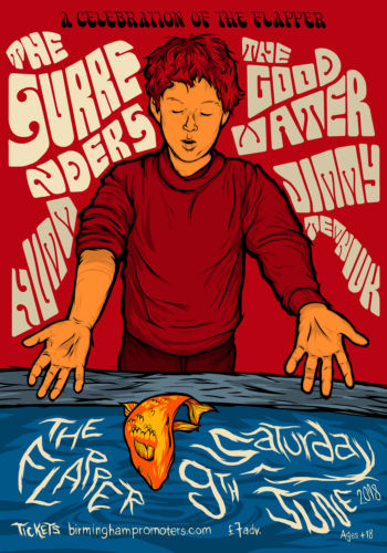 The Surrenders + HVMM + The Good Water + Jimmy Temniuka