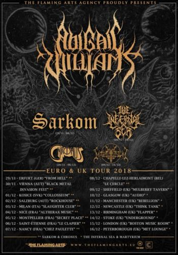Abigail Williams + The Infernal Sea + MartYriuM