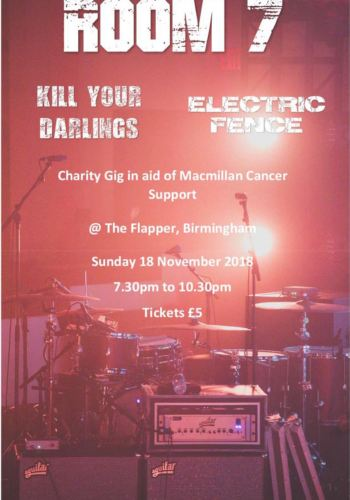 Charity Gig in aid of Macmillan Cancer Support