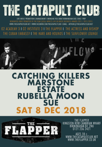 Catching Killers + Marstone + Estate + Rubella Moon + SUE