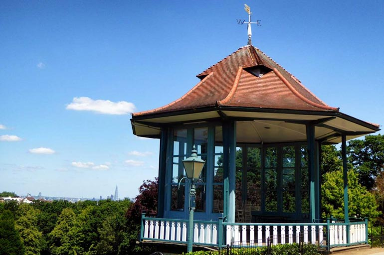 The bandstand at the Horniman Museum London