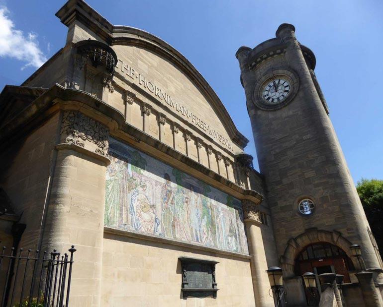 Exterior of Horniman Museum London