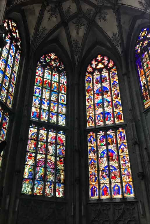 bern cathedral stained glass windows