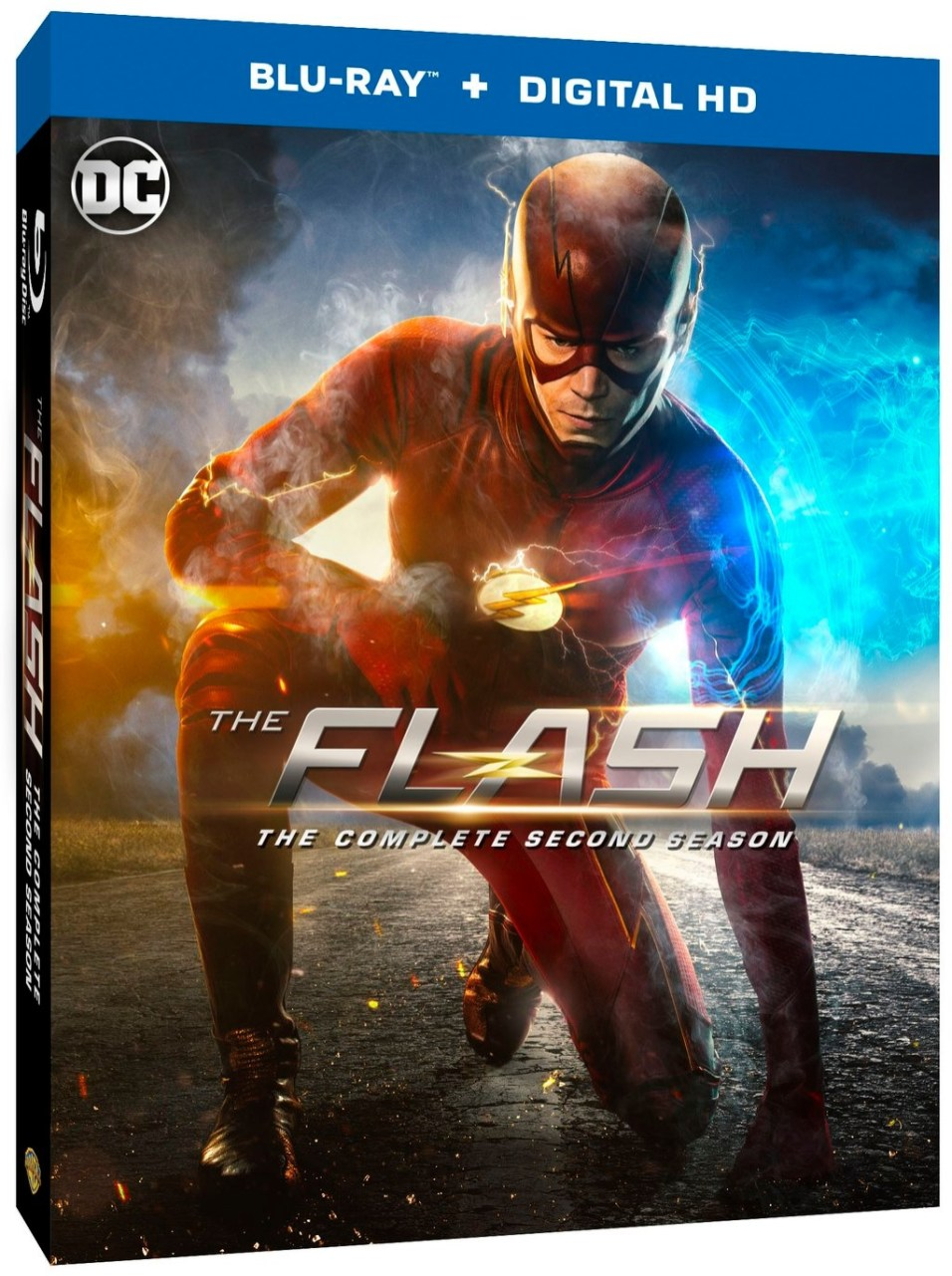 The Flash Season 2 Blu-Ray Edition